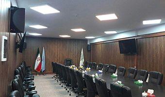 سالن آموزش و همایش ستاد معاینه فنی خودرو های تهران